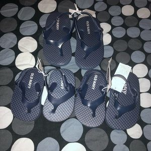 Baby navy blue sandals-different sizes